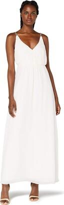 Amazon Brand - TRUTH & FABLE Women's Maxi Chiffon Boho Dress