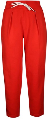 Red Logo Sweatpants