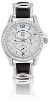 New York & Co. Pave Twist Band Watch