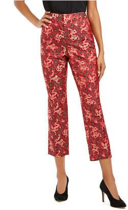 INC International Concepts Inc Cropped Jacquard Skinny Pants
