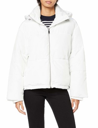 Find. Amazon Brand Women's Padded White Jacket