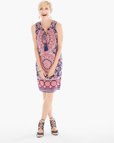 Chico's Floral Geo Print Dress