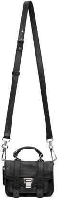 Proenza Schouler Black Micro PS1 Shoulder Bag