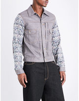 Junya Watanabe Liberty-print Wool And Cotton-blend Jacket