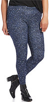 MICHAEL Michael Kors Tweed Print Stretch Knit Twill Leggings