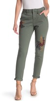 Jag Jeans Chino Embroidery Front Pants