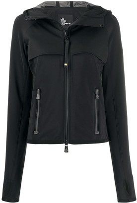 MONCLER GRENOBLE Fitted Hooded Jacket