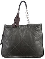 Lanvin Amalia Quilted Leather Tote
