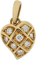 One Kings Lane Vintage Cartier Diamond Heart Pendant