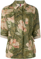 Moncler floral blouse - women - Cotton/Polyamide - 0