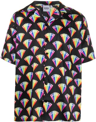SSS World Corp Graphic-Print Short-Sleeved Shirt
