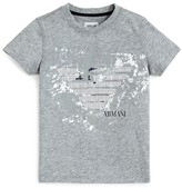 Armani Junior Armani Boys' Graphic Logo Tee - Sizes 8-14