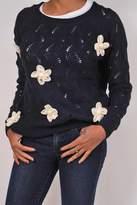 Alythea Chunky Flower Sweater