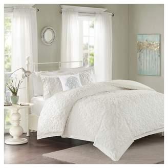 Nobrand No Brand Amber Chenille Comforter Set 4pc