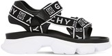 Givenchy 40MM JAW LOGO NYLON SANDALS