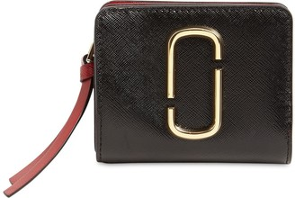 Marc Jacobs Compact Grained Leather Wallet