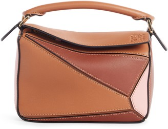 Loewe Puzzle Leather Crossbody Bag