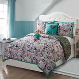 Bed Bath & Beyond Zoe 5-Piece Reversible Full Comforter Set with Doll