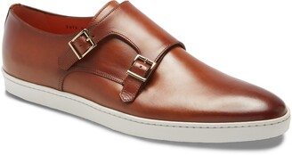 Santoni Freemont Double Monk Strap Shoe