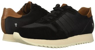 Frye Ludlow Runner (Black Canvas) Men's Lace up casual Shoes