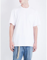 Sacai My Hero-print Cotton-jersey T-shirt