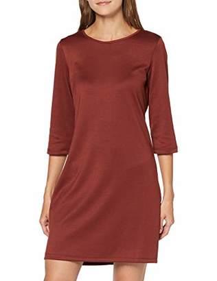 Vero Moda Women's Vmvigga 3/4 Plain Short Dress Color,10 (Size: Small)