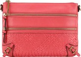 Elliott Lucca Women's Messina 3 Zip Clutch