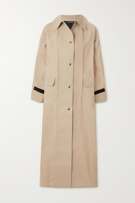 Kassl Editions Original Coated-cotton Trench Coat - Beige