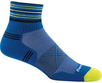 Coolmax Darn Tough Vertex Stripe 1/4 Ultra-Light Cushion Sock - Men's