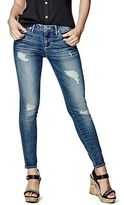 G by Guess GByGUESS Women's Esthera Destroyed Ankle Skinny Jeans