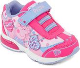 Peppa Pig Girls Light-Up Sneakers - Toddler