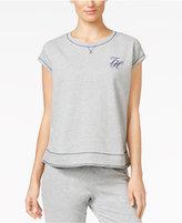 Tommy Hilfiger Short-Sleeve Pajama Sweatshirt