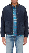 RRL Men's Quilted Padded Chambray Jacket