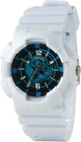 Ed Hardy Men's Striker SR-WHM White Rubber Quartz Watch with Dial