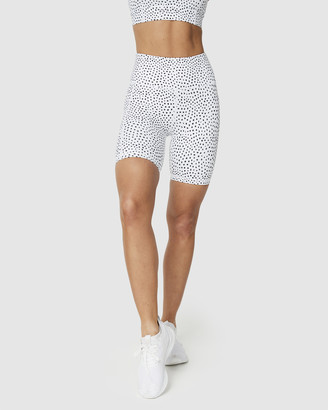 Muscle Republic - Women's White Shorts - Biker Shorts - Size One Size, XL at The Iconic