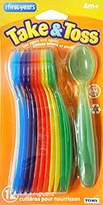 The First Years Take & Toss Infant Spoons One Pack of 12, 4 Month +