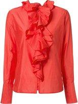 Tome ruffled blouse - women - Silk - 0
