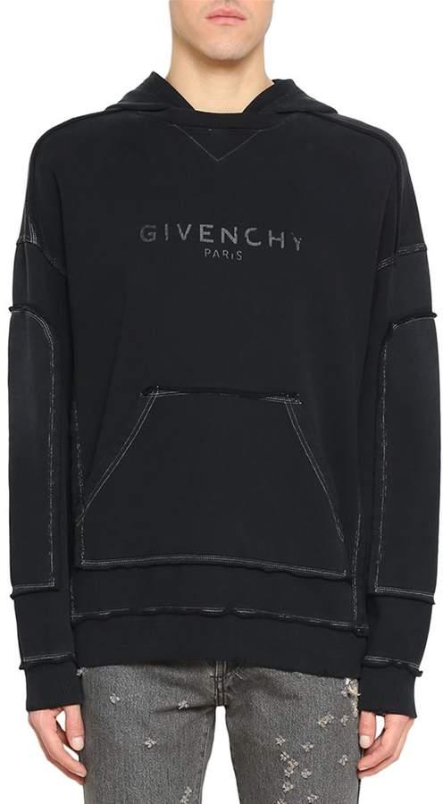 Givenchy Logo Cotton Hoddie