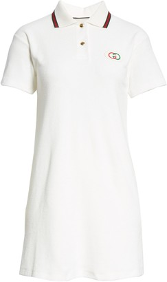 Gucci Logo Patch Tennis Polo Dress