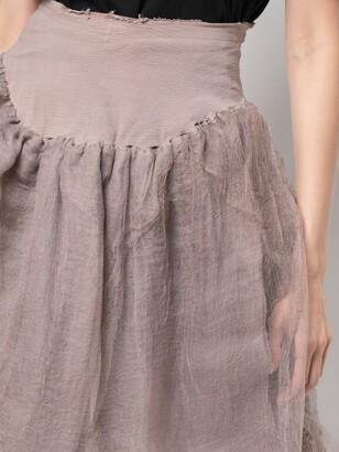 Marc Le Bihan Elasticated Waist Skirt