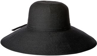 San Diego Hat Company Women's 5-Inch Brim Sun Hat with Braid Self Tie