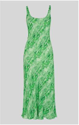 Whistles Python Print Slip Dress