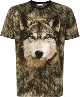 Etro wolf print T-shirt - men - Cotton - M