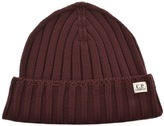 C.P. Company Beanie Hat Red