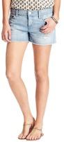 "LOFT Denim Cut Off Shorts in Summer Bleach Out Wash with 3"" Inseam"