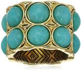 House Of Harlow Nuri Statement Gold/ Silver Ring