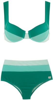 BRIGITTE High Waisted Bikini Set