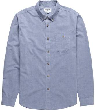 Billabong All Day Long-Sleeve Shirt - Men's