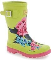 Joules 'Welly' Print Waterproof Rain Boot (Walker, Toddler, Little Kid & Big Kid)