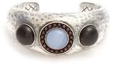 Bottega Veneta Beaded silver cuff